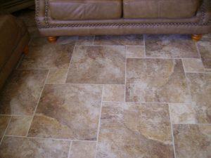 Custom Tiled Floor