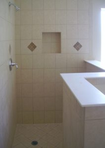 Custom Tiled Shower Enclosure