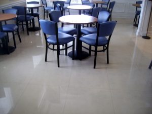 Large Tiled Floor